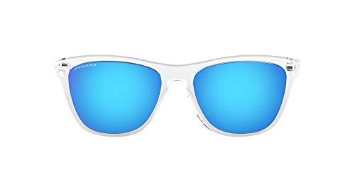 Oakley Frogskins 9013d0 Occhiali da Sole, Bianco (Transparente), One Size Uomo