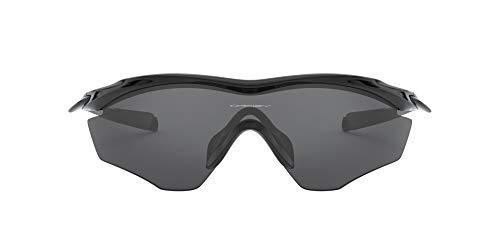 Oakley OO9343-01- M2 Frame XL Occhiali da sole, Nero lucido (Polished Black)