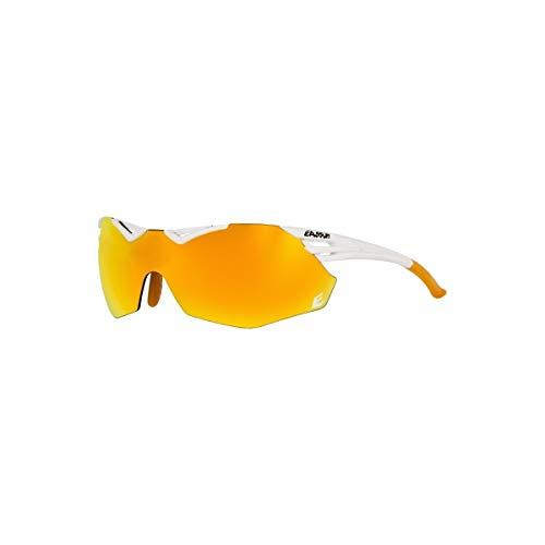 EASSUN Avalon - Occhiali da Sole Sportivi, Unisex, da Adulto, Colore: Bianco Opaco, M-L