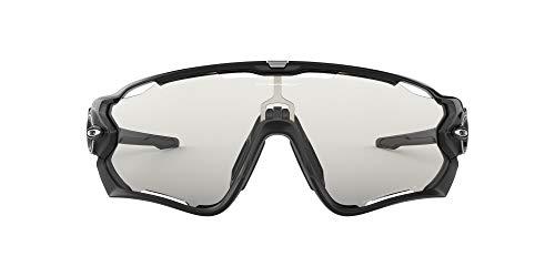 Oakley Sonnenbrille Jawbreaker Occhiali da Sole, Nero (Negro Brillo), 0 Uomo