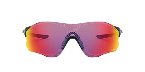 Oakley Evzero Path Occhiali da Sole, Nero (Negro), 1 Uomo