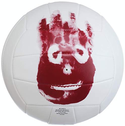 Wilson, Palla da pallavolo, Castaway, Bianco, Mr. Wilson, finta pelle, WTH4615XDEF