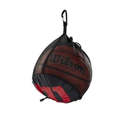 Wilson, Basket, Rete porta-palloni da basket, Nero, Per un pallone, WTB201910
